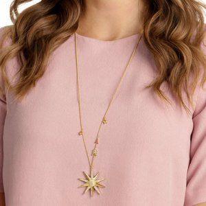 🎅Swarovski LUCKY GODDESS sweater necklace